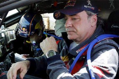 Carlos Sáinz abandona un Rally Dakar...que lideraba