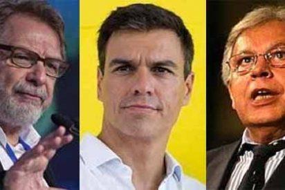 Pedro Sánchez no compra las tesis de González y Cebrián y sigue empecinado en pactar con Podemos
