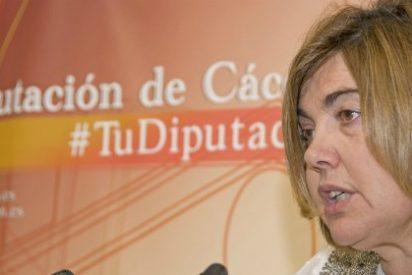 El PP denuncia que la Presidenta de la Diputación de Cáceres no quiere hablar de depurar responsabilidades