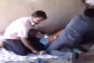 Irán: Los 4 piadosos musulmanes que violan y decapitan arrepentidos a la mujer del hiyab