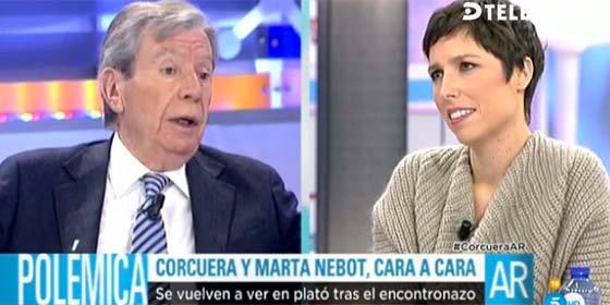 El exministro Corcuera plancha a los progres de Telecinco con una metáfora sexual sobre Podemos y Marta Nebot