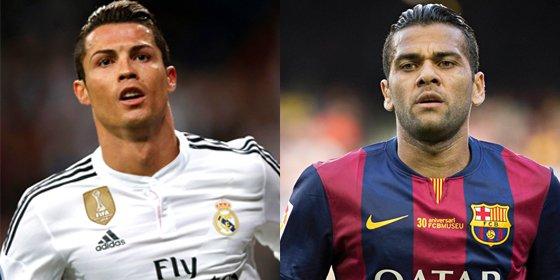 Marca afirma que en la gala del Balón de Oro hubo tensión y reproches entre CR7 y Dani Alves