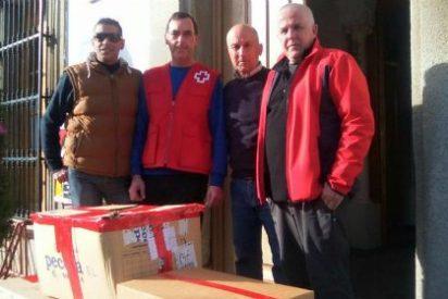 Las colaboración de Cruz Roja y SSMM los Reyes Magos llega a mas de 200 niños en Badajoz