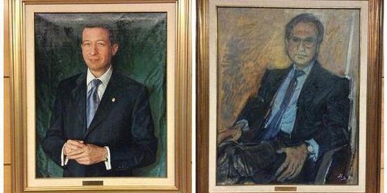Ciudadanos pide quitar de la Asamblea de Madrid el retrato del padre del podemita Espinar