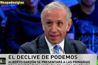 """Eduardo Inda: """"El plan de los de Podemos es ver quién pilla un Audi más grande"""""""