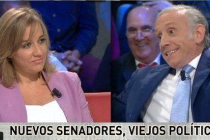 """Inda se chotea de los sermones de Tania Sánchez: """"Voy a proponerle a Ferreras que esto se llame 'laSexta Noche de Tania'"""""""