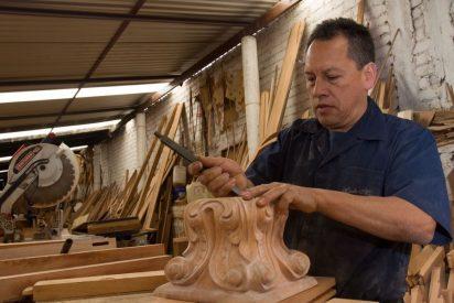 Artesanos indígenas para la misa de Francisco