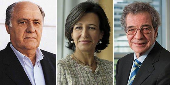 Amancio Ortega, Ana Botín y César Alierta, los líderes empresariales mejor valorados por la prensa