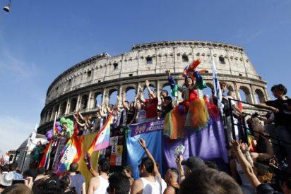Italia se moviliza en pro del matrimonio gay