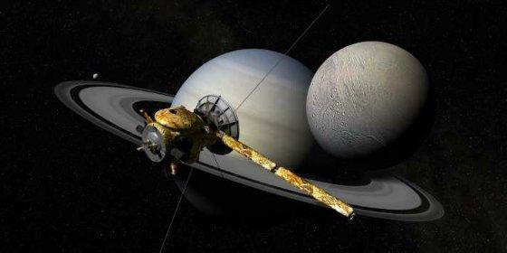 El extraño hallazgo de la NASA en Encélado, una luna de Saturno