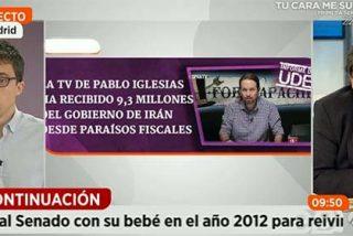 Marhuenda cuestiona a Errejón por la financiación desde Irán y Venezuela: