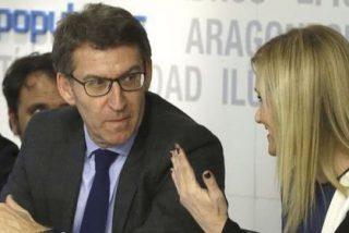 Cristina Cifuentes gana enteros, Alberto Núñez Feijóo observa, Mariano Rajoy se apaga y Pedro Sánchez se enroca