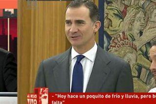 La maquinaria de Ferreras babea con la visita de Iglesias al Rey