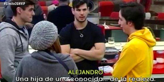 """Francisco Nicolás dice que le """"pillaron"""" con """"la hija de una conocida de la realeza"""""""