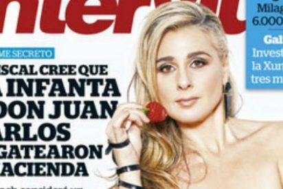 """Fresita ('GH5') vuelve a desnudarse y a hacer el ridículo en 'Interviú': """"Ada Colau me encanta"""""""