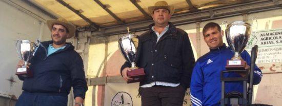 Germán Peña, ganador del VII Concurso Nacional de Maniobrabilidad con Tractor y Remolque celebrado en Agroexpo
