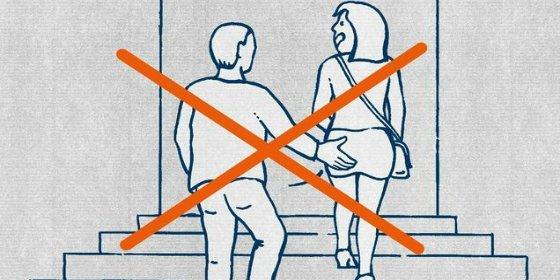 La guía ilustrada alemana para enseñar a los refugiados islámicos a no tocar culos ni pegar a las mujeres