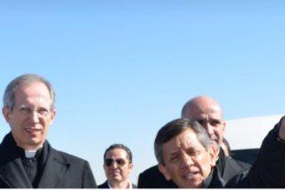 """Guido Marini en Ciudad Juárez: """"Me voy feliz y contento, porque he visto una muy buena preparación y organización"""""""
