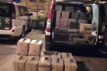 La Guardia Civil detiene en la provincia de Sevilla a una persona e incauta 1500 kilos de hachís