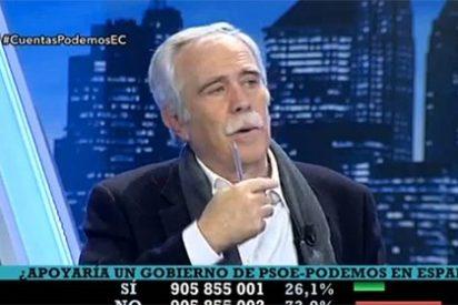 """Pérez Henares pone en la diana a Podemos: """"Estos no luchan contra las dictaduras, cobran de ellas"""""""