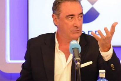 """Carlos Herrera desmonta todas las falacias de un independentista de ERC: """"Trampas a todas horas no me haga"""""""