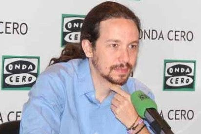 Pablo Iglesias, más quemado que la moto de un hippy por ir al gallinero del Congreso