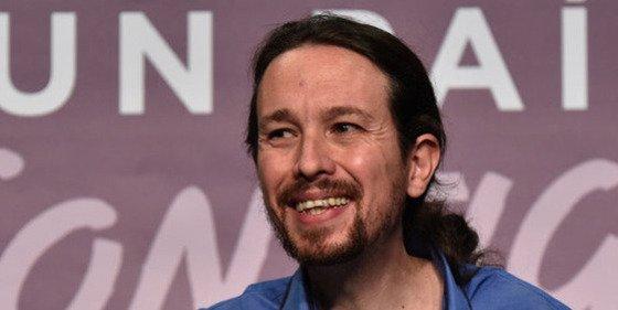 El cursi de Pablo Iglesias tiene registrada la marca 'Podemos' en su VPO ilegal de Vallecas