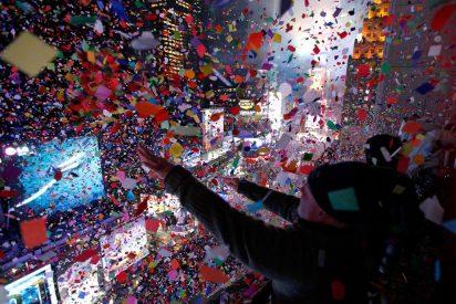 """""""Terapia para la memoria"""" en el Times Square"""