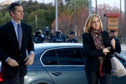 La Infanta Cristina e Iñaki Urdangarin, muy serios a su llegada a la sede del juicio por el Caso Nóos