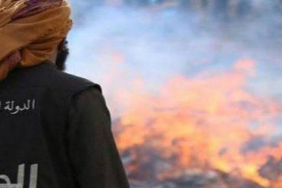 El ISIS quema vivos a sus combatientes por huir despavoridos de Ramadi