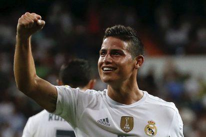 La afición del Real Madrid quiere a James sea titular