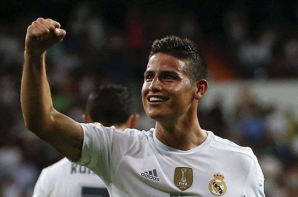 La afición del Real Madrid quiere a James sea titular