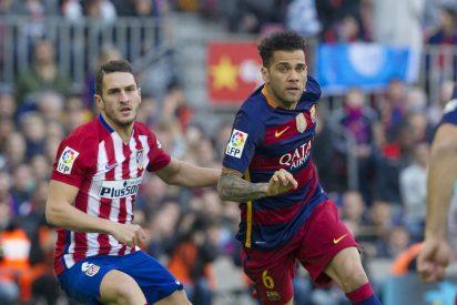 El bravo Atlético de Madrid juega más pero se suicida ante el Barça en dos patadas