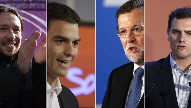 Carta abierta al PP, al PSOE, a Podemos y a Ciudadanos