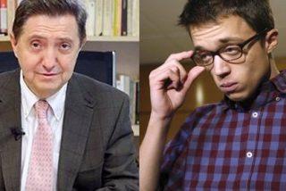 """Losantos carga contra Errejón por diferenciar entre patricios y plebeyos y contra El País por ser su """"tribuna plutocrática"""""""