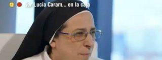 Sor Lucía Caram babea con Artur Mas: