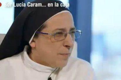 """Sor Lucía Caram babea con Artur Mas: """"Gran persona y líder indiscutible"""""""