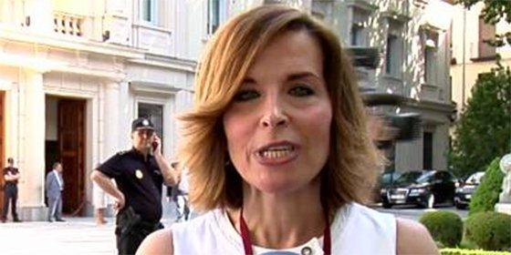 """""""La noticia, hoy, sería ver a un señor con el crío a la chepa, ¿tal vez Pablo Iglesias?"""""""