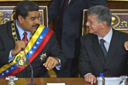 [VÍDEO] El ejemplar 'bofetón' de Ramos Allup a un acojonado Maduro en la Asamblea Nacional