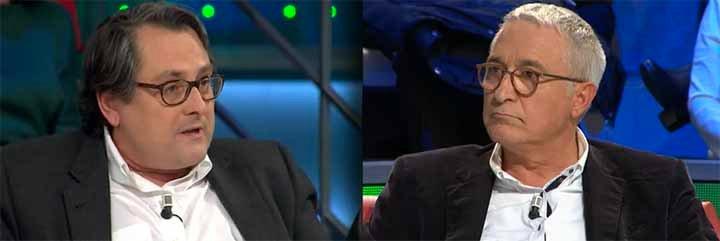 """Marhuenda pone firme a Sardá: """"No estoy para aguantarte chorradas, mi presidente es Casals, no Rajoy"""""""