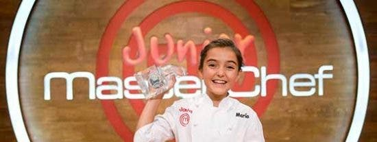 María, ganadora de 'Masterchef Junior'.
