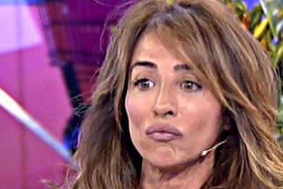 ¡Susto en 'Sálvame'!: María Patiño se desmaya en directo