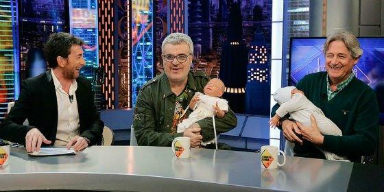 'Martes y 13' se ríen de las payasadas podemitas y del bebé de Bescansa en 'El Hormiguero'