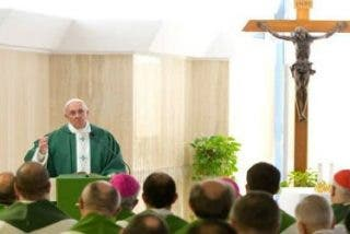 """Francisco, en Santa Marta: """"La fe no se aprende en los libros, es un don de Dios"""""""