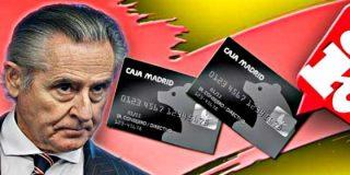 Los caraduras en las 'tarjetas black' sólo han devuelto el 11% de los 15 millones gastados