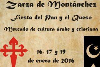"Gran afluencia al ""I Mercado de Cultura Árabe y Cristiana"" en Zarza de Montánchez (Cáceres)"