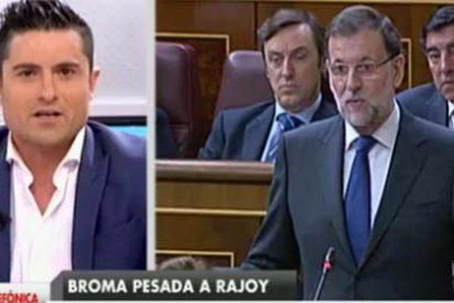 """Alfonso Merlos ajusticia a los graciosillos de la broma a Rajoy: """"¿Qué esperaban? ¿Un bufido?"""""""