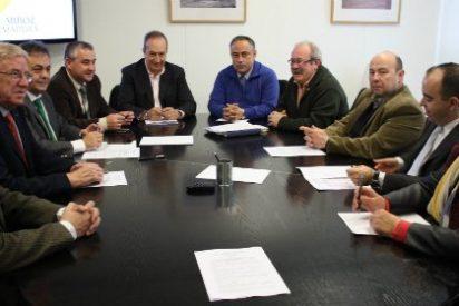 El sector arrocero constituye la Mesa del Arroz de Extremadura en el marco de Agroexpo