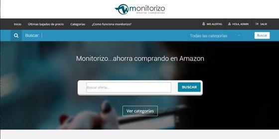 Aprende cómo ahorrar en Amazon con Monitorizo