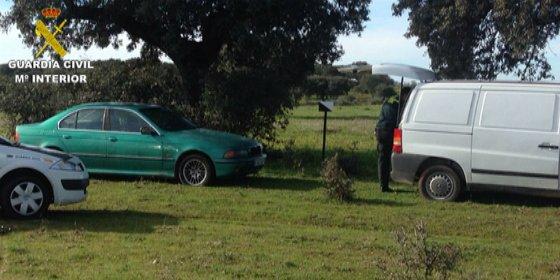 Sorprenden in fraganti a tres personas intentando robar en el interior de una explotación en Monroy (Cáceres)